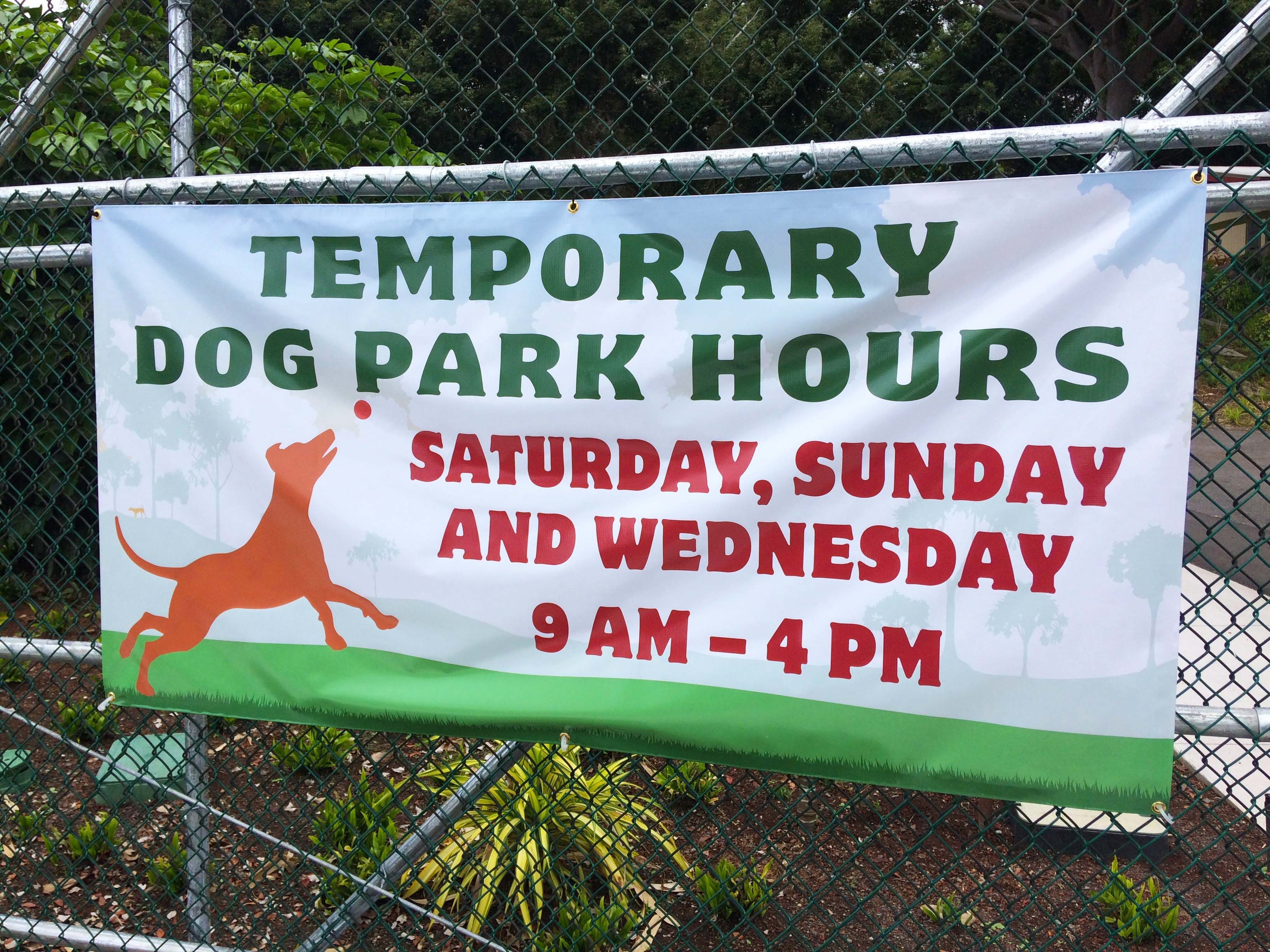 Temporary Hours Banner SMALL